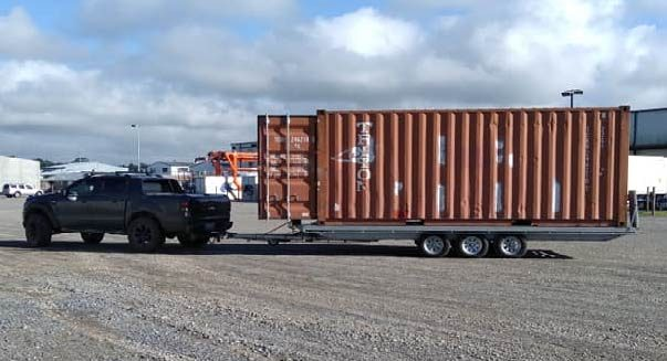 Shipping Container Towing Service nz
