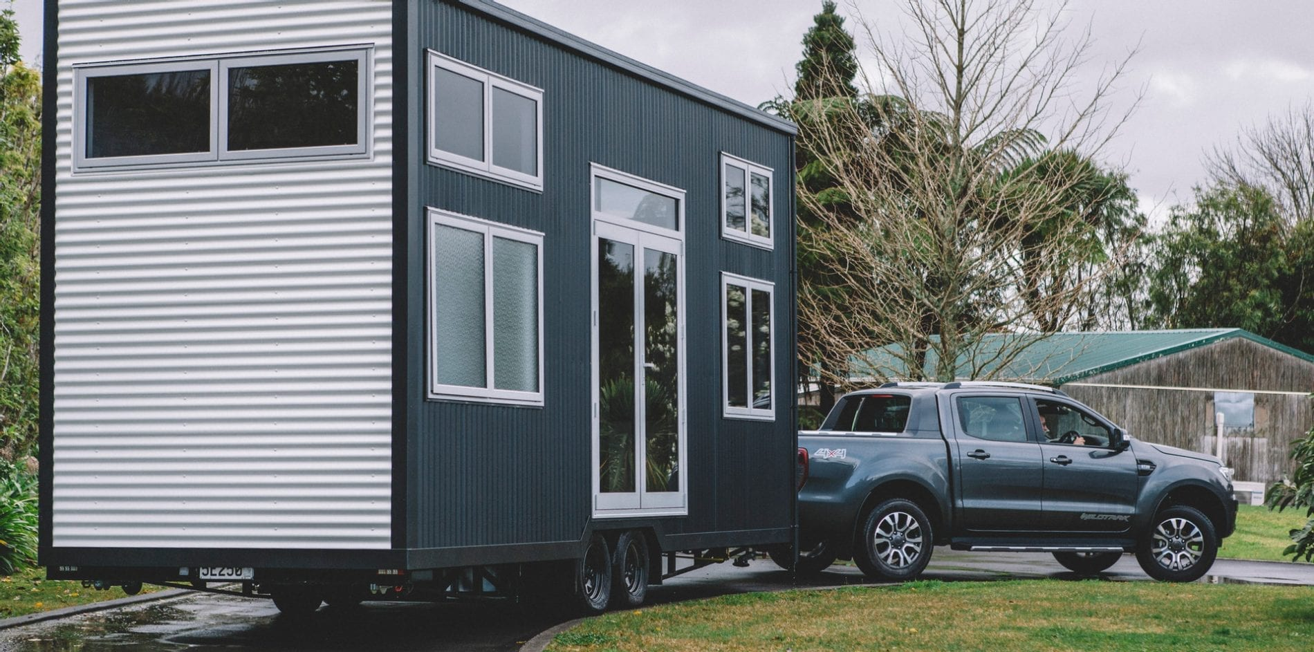 Tiny Home Towing